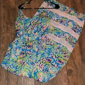 Lilly Pulitzer watercolor dress
